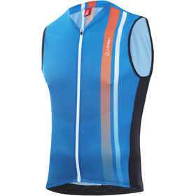 Löffler Aero Full-Zip Bike Tanktop Men brillant blue
